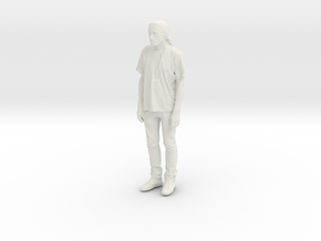 Printle C Homme 077 - 1/43 - wob in White Natural Versatile Plastic
