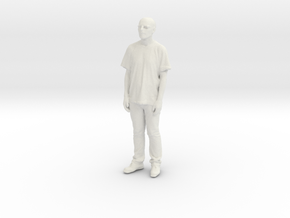 Printle C Homme 080 - 1/43 - wob in White Natural Versatile Plastic