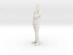 Printle C Homme 088 - 1/43 - wob in White Strong & Flexible