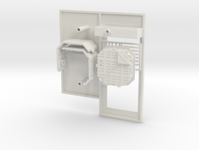 Platform Replacement with Single Pit for DeAgo Fal in White Strong & Flexible