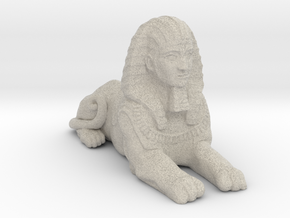 Sphinx in Natural Sandstone