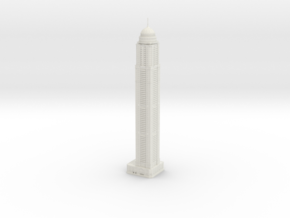 Princess Tower (1:2000) in White Natural Versatile Plastic