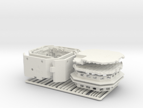 Maintenance Pit Dual Pack for DeAgo Falcon in White Natural Versatile Plastic