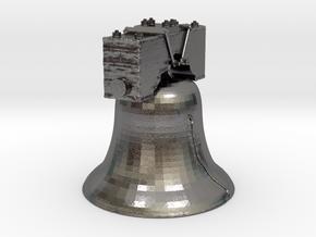 LIB-BELL-3-3-14-17-2.stl in Polished Nickel Steel