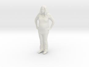 Printle C Femme 130 - 1/64 - wob in White Natural Versatile Plastic