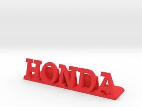 Honda Desktop Picture Holder in Red Processed Versatile Plastic