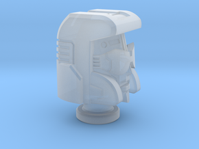 Pacifist Head for Cybertron Swindle in Frosted Ultra Detail