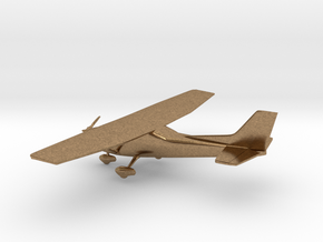 Cessna 172 Skyhawk in Natural Brass: 1:108