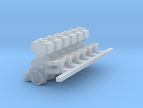 5100 6 units with parallel arms 3/4 down position  in Smooth Fine Detail Plastic