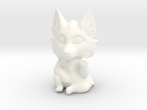 Wolf in White Processed Versatile Plastic