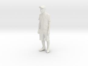 Printle C Homme 074 - 1/64 - wob in White Natural Versatile Plastic