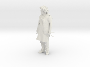 Printle W Homme 095 - 1/64 in White Natural Versatile Plastic