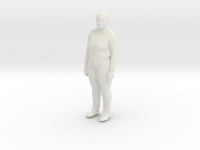 Printle C Femme 205 - 1/32 - wob in White Strong & Flexible