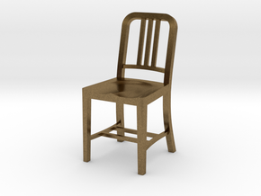 1:24 Metal Chair in Natural Bronze