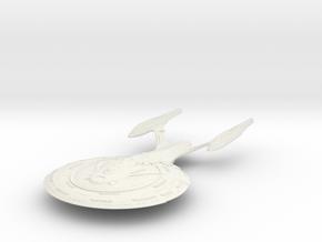 Fontana Class  HvyCruiser in White Natural Versatile Plastic
