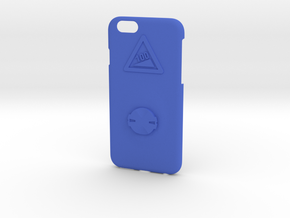 iPhone 6/6S Garmin Mount Case - Hill Climb in Blue Strong & Flexible Polished