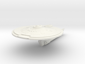 Runner Class   Scout Destroyer in White Natural Versatile Plastic