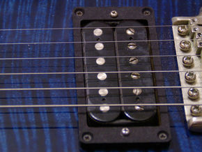 Pickup Mounting Ring for PRS - pair in Black Natural Versatile Plastic