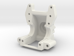 AXIAL YETI / EXO Bulkhead V2 in White Strong & Flexible