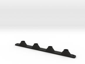 Axial Yeti XL Rear Light Buckets in Black Natural Versatile Plastic