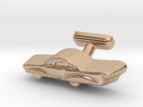The famous Autodrop Cadillacs Cufflinks in 14k Rose Gold