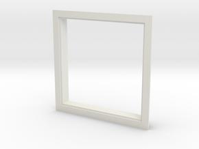 Window, 54in X 54in, Single Pane in White Strong & Flexible