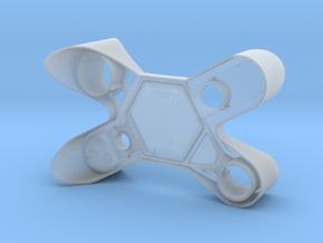 Oblvion Defender Drone Face in Smooth Fine Detail Plastic