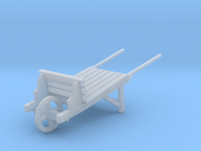 18th Century Wheelbarrow 1/43.5 in Smooth Fine Detail Plastic