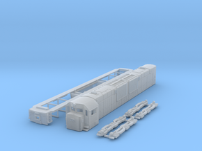 N Scale ALCo C-643dh in Smooth Fine Detail Plastic