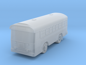 N Scale (1:160) Bluebird 28 Passenger Aircrew Bus in Frosted Ultra Detail
