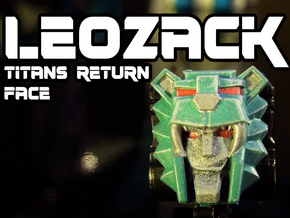 Leozack Faceplate (Titans Return) in Frosted Ultra Detail