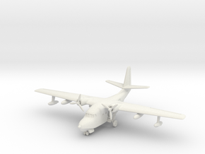 Grumman HU-16 (SA-16) Albatross (on land) 1/200 in White Natural Versatile Plastic