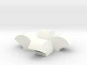 1/64 Bin Vent 15inch in White Processed Versatile Plastic
