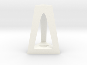 Decoration Stand in White Strong & Flexible Polished