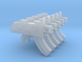 Mk87 Thunderbolt Pistols with Shark icon in Smooth Fine Detail Plastic