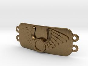 Journeyer Bracelet_ Cadiaan   in Natural Bronze