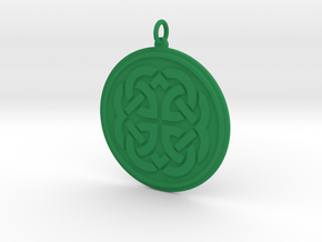 Feyfire Pendant in Green Processed Versatile Plastic