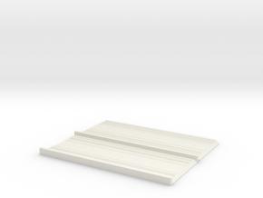 HO Robs Roof V2 in White Natural Versatile Plastic