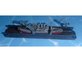 Floating Drydock modern Style 1/1800 in Smooth Fine Detail Plastic