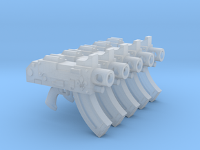 Fleur de Lis Mk87 Thunderbolt Pistols in Smooth Fine Detail Plastic