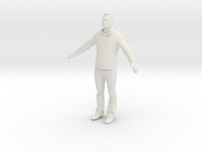 Printle C Homme 608 - 1/32 - wob in White Natural Versatile Plastic