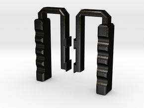 VDesigns Coldgrips in Matte Black Steel