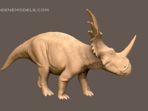Styracosaurus 1:35 v1 in Black Strong & Flexible