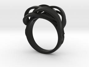 Intrigue Ring in Black Natural Versatile Plastic: 7 / 54