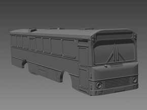 Volvo B58 Bus 1-1-0 N scale in Smooth Fine Detail Plastic