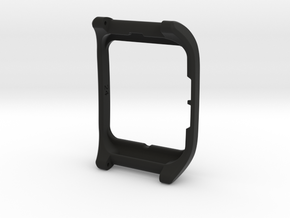 Sony SmartWatch 3 RAISED BEZEL adapter 24mm in Black Natural Versatile Plastic