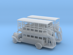 Omnibus N Scale in Frosted Ultra Detail