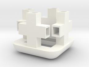 Mighty-Helper Unterseite in White Processed Versatile Plastic