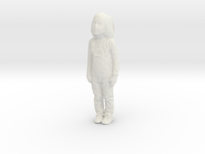 Printle C Kid 154 - 1/32 - wob in White Natural Versatile Plastic