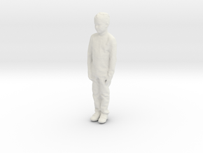 Printle C Kid 158 - 1/32 - wob in White Natural Versatile Plastic